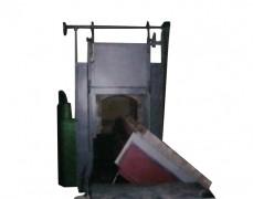 山西翻转式台车炉